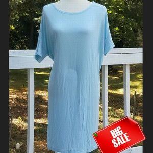 CHERISH Soft Blue Tunic Dress